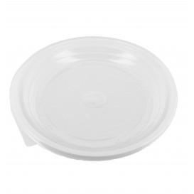 Plato de Plastico Llano Blanco 170 mm (100 Uds)