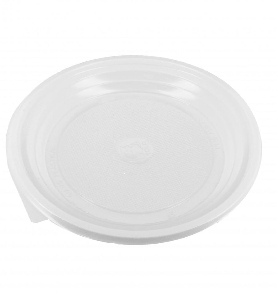 Plato de plastico llano blanco 170 mm 100 uds for Plato blanco