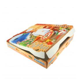 Cajas para Pizza 40x40x4 Vegetal (100 Uds)