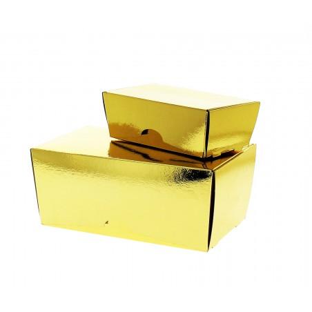 Caja para Dulces y Bombones Oro 19x11x8,5cm 1000g (5 Uds)