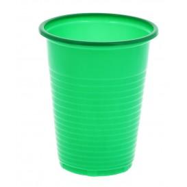 Vaso de Plastico PS Verde 200 ml (Bolsa 24 Uds)