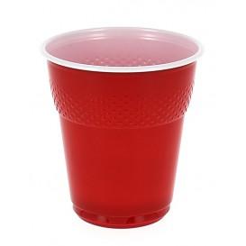 Vaso de Plastico PS Vending Rojo 160 ml (3000 Unidades)