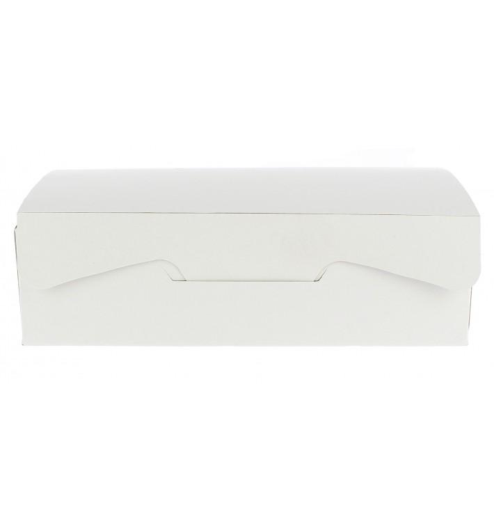 Caja Pasteleria Carton 17,5x11,5x4,7cm 250g. Blanca (20 Uds)