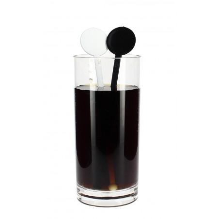 Agitador para Bebidas de Plástico Blanco 175mm (100 Uds)