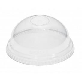 Tapa Cupula Cerrada Vaso PET 9B, 12, 16 y 20 Oz (50 uds)