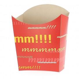 Caja para Fritas Pequeña 8,2x2,2x9cm (25 Uds)
