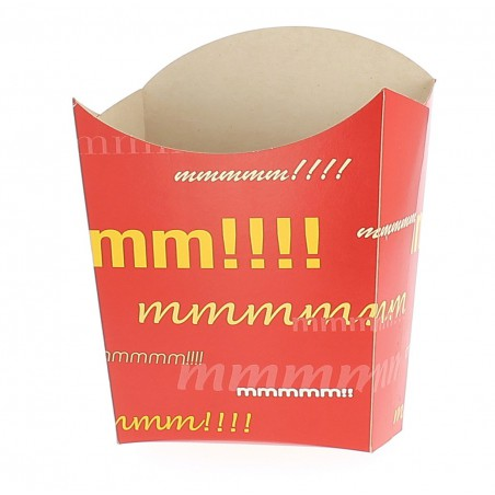 Caja para Fritas Pequeña 8,2x2,2x9cm (50 Uds)