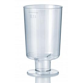 Copa de Plastico con Pie 100 ml (15 Uds)