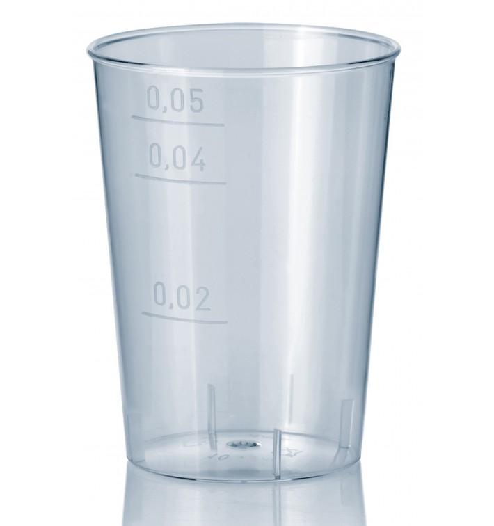 Vaso Inyectado Transparente PS 50 ml (40 Uds)