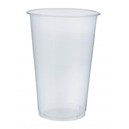 Vaso de Plastico PP Transparente 450 ml (80 Unidades)