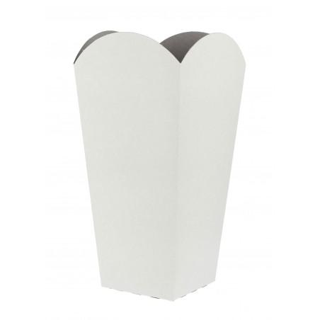 Caja Palomitas Pequeña Blanca 45 gr. 6,5x8,5x15cm (25 Uds)