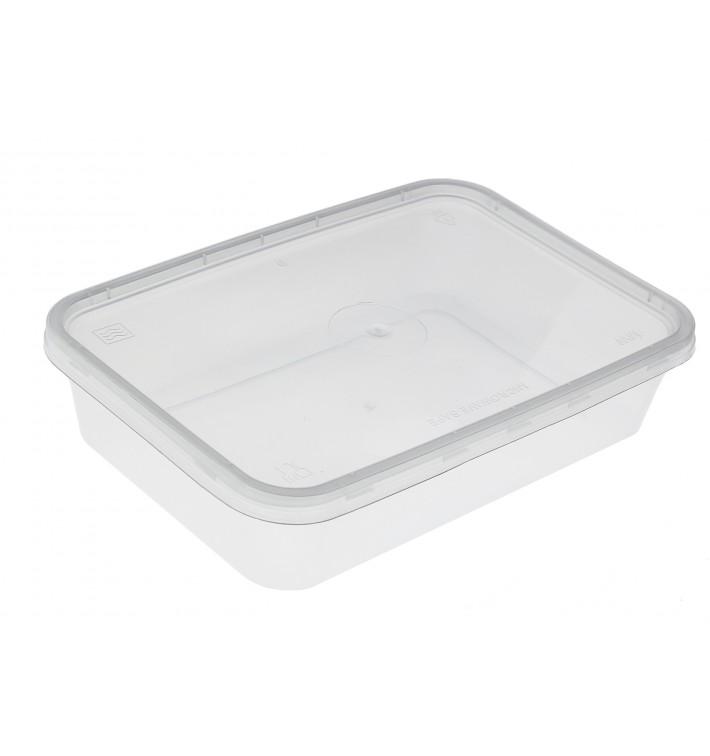 Tarrina Plastico Rectangular PP 500 ml (50 Uds)