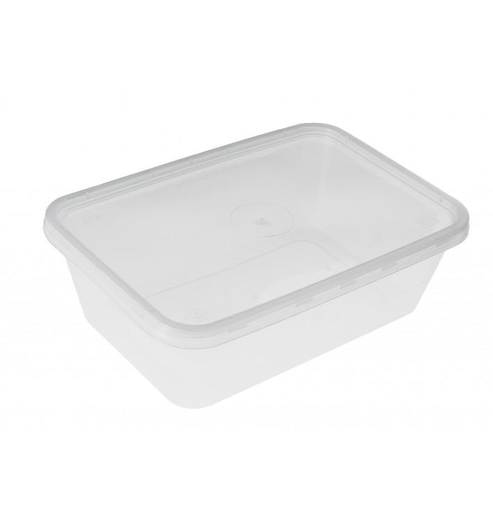 Tarrina Plastico Rectangular PP 750 ml (50 Uds)