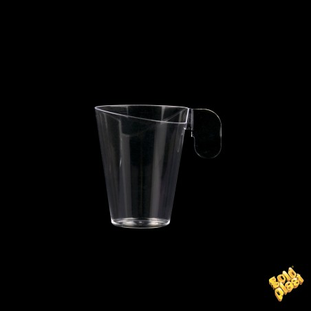 Taza de Plastico Degustacion Design Transp. 72ml (12 Uds)