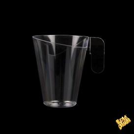 Taza de Plastico Design Transparente 155ml (12 Uds)