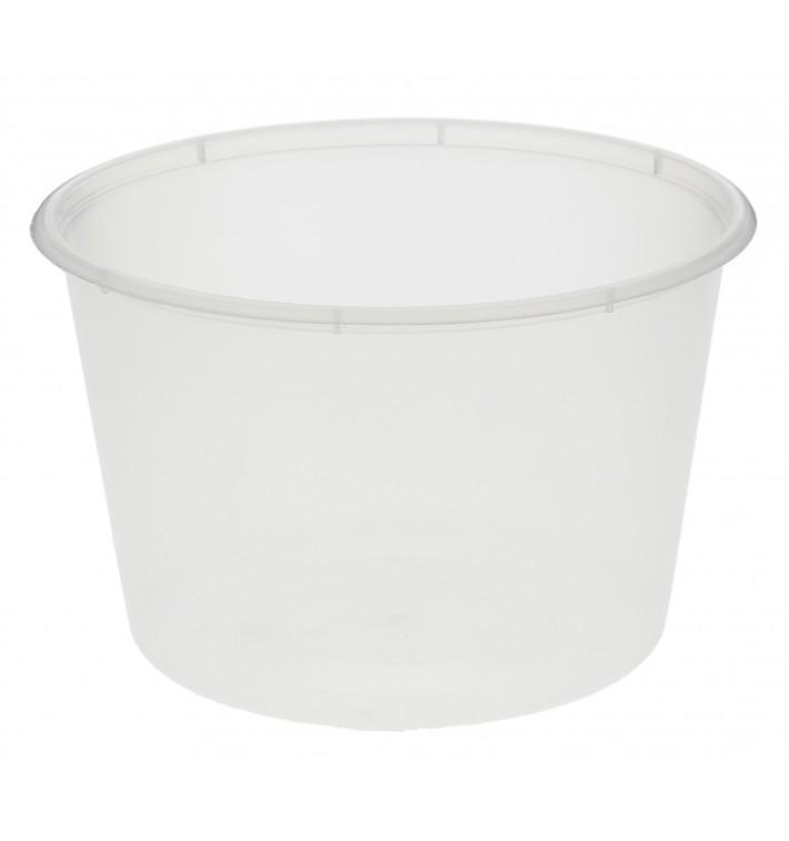 Tarrina de Plastico Transparente PP 550 ml (50 Uds)