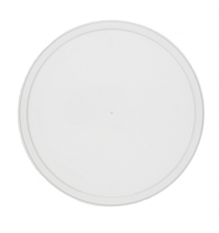 Tapa Transparente para Tarrina Redonda PP 550 ml (50 Uds)