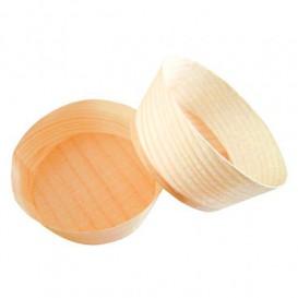 Vaso de Madera Degustacion 5x2,2cm (100 Uds)