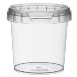 Envase de Plastico con Tapa Inviolable 155 ml Ø6,9 (24 Uds)