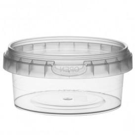 Envase de Plastico con Tapa Inviolable 180 ml Ø9,5 (12 Uds)