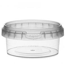 Envase de Plastico redondo inviolable 180 ml Ø9,5 (252 Uds)