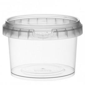 Envase de Plastico con Tapa Inviolable 280 ml Ø9,5 (25 Uds)