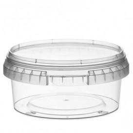 Envase de Plastico con Tapa Inviolable 300 ml Ø11,8 (34 Uds)