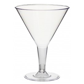 Copa de Plastico Transparente 215 ml (25 Uds)