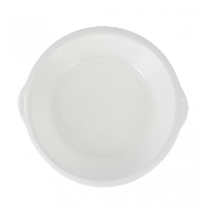 Bol de Plástico PP con Asas Blanco Ø18,5cm (50 Uds)