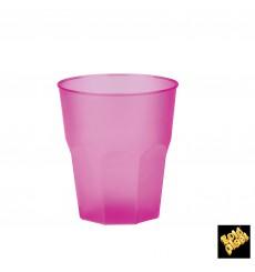 Vaso de Plastico Fucsia PP 250ml (20 Uds)