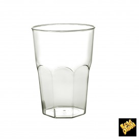 Vaso Plastico para Cocktail Transp. PS Ø84mm 350ml (20 Uds)