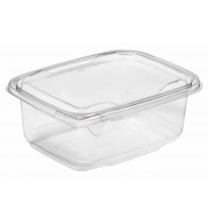 Bol de Plástico Ensaladera 180x140x70mm PET 1000ml (65 Uds)