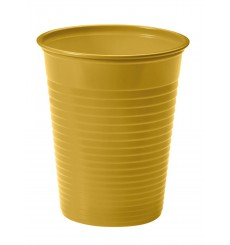 Vaso de Plastico Oro PS 200ml (50 Uds)