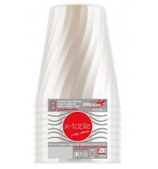 Vaso de Plastico Perla PP 320ml (8 Uds)