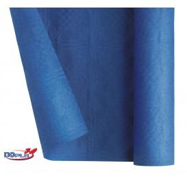 Mantel de Papel Rollo Azul Oscuro 1,2x7m (1 Ud)