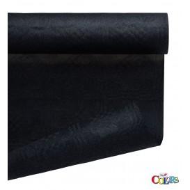 Mantel de Papel Rollo Negro 1,2x7m (1 Ud)