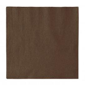 Servilleta de Papel 2 Capas Chocolate 33x33cm (50 Uds)