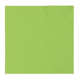 Servilleta de Papel 2 Capas Verde Lima 33x33cm (50 Uds)