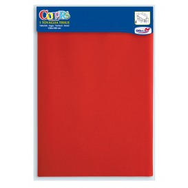 Mantel de papel Rojo 1,2x1,8m (1 Uds)