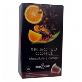 Cápsulas Compatibles Nespresso* Chocolate Naranja (10 Uds)