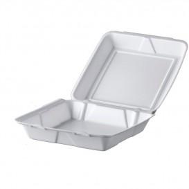 Envase Foam MenuBox Blanco 240x235mm (100 Uds)