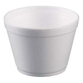 Tarrina Termico Foam Blanco 16Oz/475ml Ø11,7cm (25 Uds)