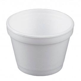 Tarrina Termico Foam Blanco 4Oz/120ml Ø7,4cm (50 Uds)