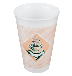 "Vaso Termico Foam EPS ""Café"" 12Oz/355 ml (20 Unidades)"