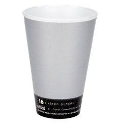 """Vaso Termico Foam """"Fusion"""" Gris 16Oz/473ml Ø94mm Ø94mm (25 uds)"""