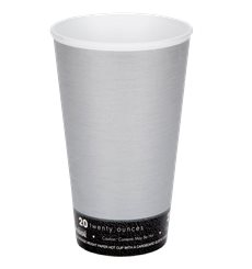 "Vaso Termico Foam ""Fusion"" Gris 20Oz/591ml Ø94mm (20 Unidades)"