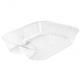 Envase de Plastico OPS 2 C. Transparente 565ml (125 Uds)