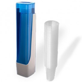 Pack Dispensador Vasos 160, 200 y 220ml + 800 Vasos Transparentes