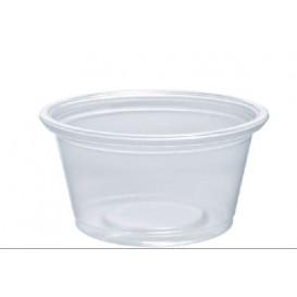 Tarrina de Plastico PP para Salsas 25ml Ø48mm (125 Uds)