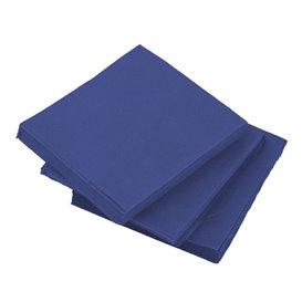 Servilleta de Papel Micropunto 20x20cm Azul (100 Uds)